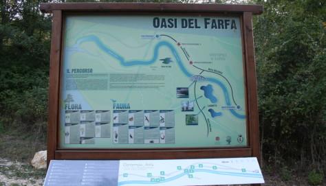 Oasi del Farfa, percorso permanente di sculture