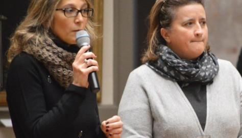 Cinzia Lacchia conservatore del Museo e Lorella Giudici