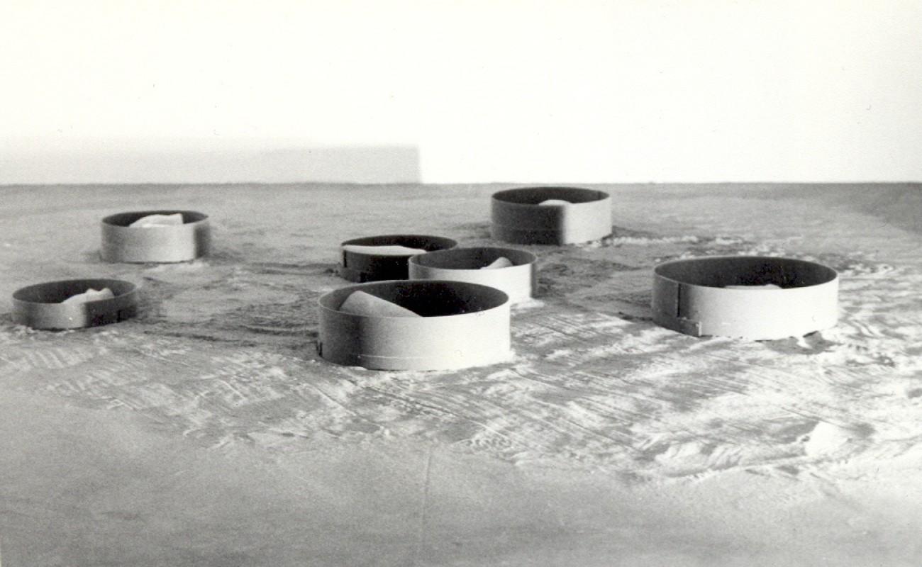 Federica Ferzoco, Regressione talassale, Galleria Giò Marconi, Milano, 1997