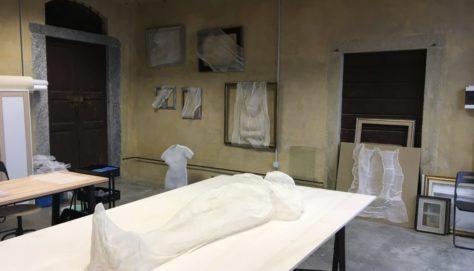 Artist in residence, work in progress