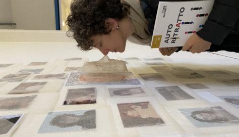 Federica Ferzoco, Autoritratto, 2020 Installazione a parete